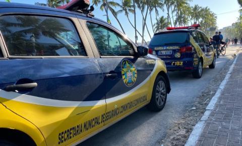 Guarda Municipal de Maceió garante segurança da população em ações diárias