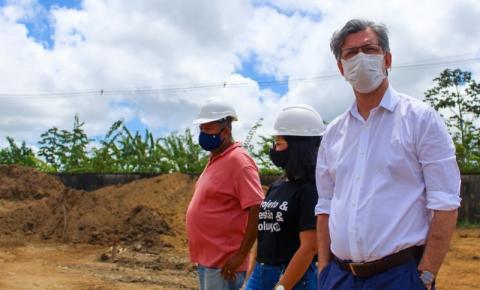 Em Maceió: Secretário fiscaliza andamento das obras para ampliar acesso de alunos à educação