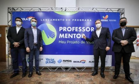 COM BOLSAS DE R$ 1.500, GOVERNO DE ALAGOAS LANÇA O MAIOR PROGRAMA DE MENTORIA NA EDUCAÇÃO DO BRASIL