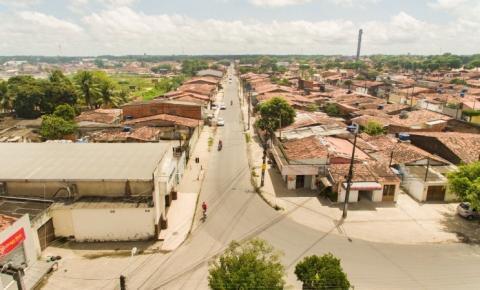 Infraestrutura finaliza pavimentação de avenida no Conjunto Eustáquio Gomes