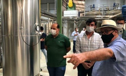Com incentivos fiscais do Governo de Alagoas, indústria alimentícia começa a operar em Teotônio Vilela
