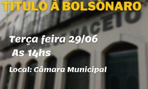 Entidades e Partidos Políticos convocam Ato contra Título à Bolsonaro