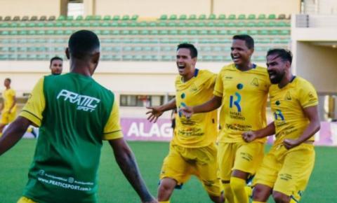 Aliança vence o CSE no Estádio da Ufal e fica atrás do CRB apenas no saldo de gols